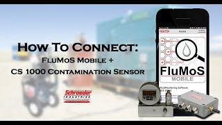 FluMoS mobile | Connecting a TCM Contamination Monitor