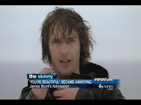 SKINNY: James Blunt Apologizes for 'You're Beautiful'