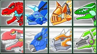 Dino Robot Corps + Robot Dinosaurs #1| Eftsei Gaming