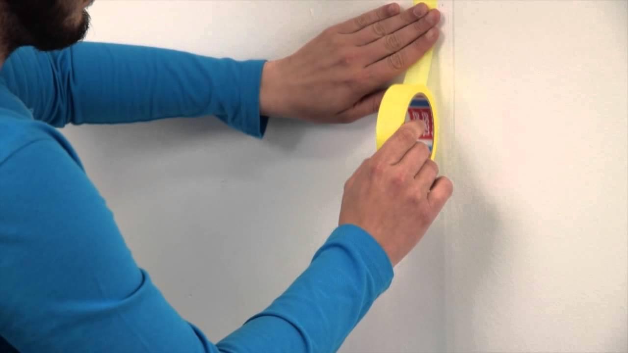 Peindre Les Angles Sans Déborder peindre avec précision avec du ruban de masquage tesa®