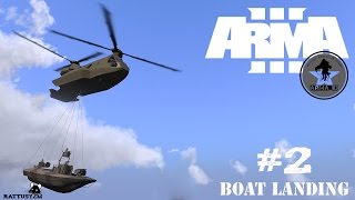 ARMA 3 - BOAT LANDING FROM HURON (ARMAID)