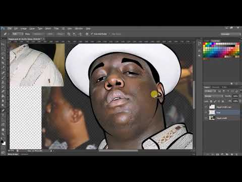 Create A Cartoon With The Pen Tool - Biggie Smalls