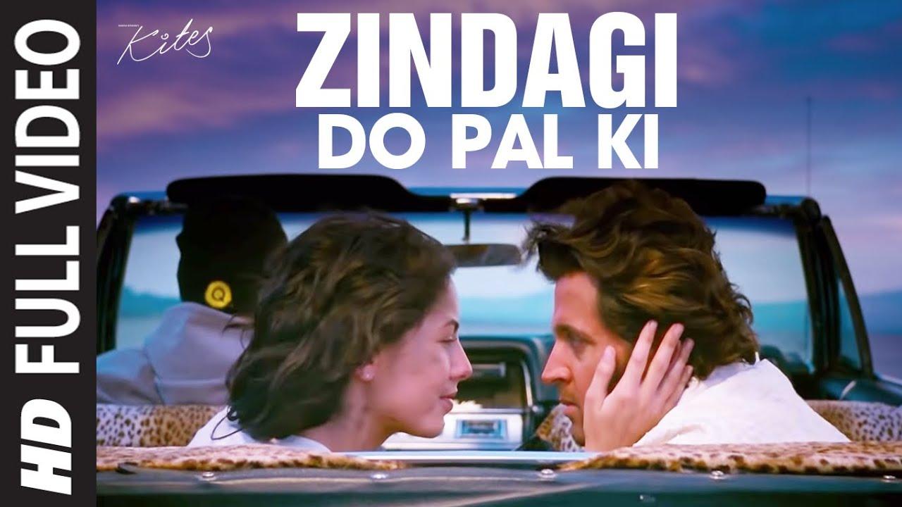 Download Zindagi Do Pal Ki  [Full Song]  Kites | Hrithik Roshan, Barbara Mori