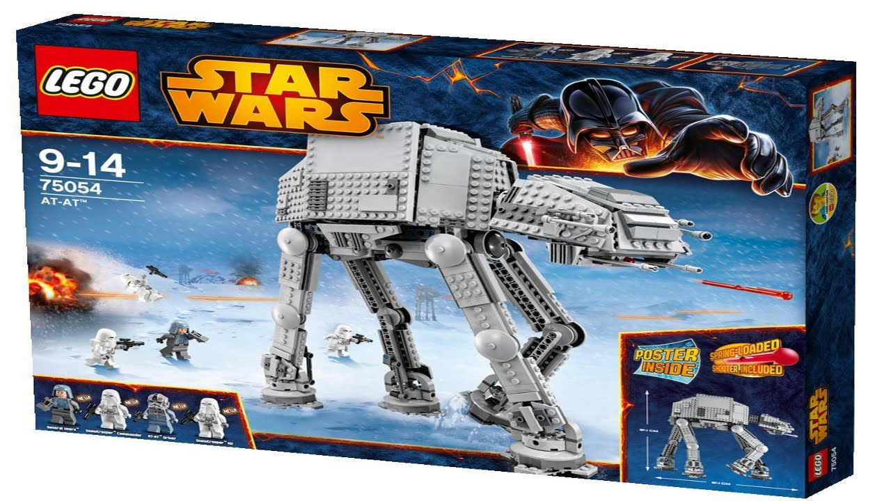75054 At At Lego Star Wars Complete Instruction Booklet Youtube