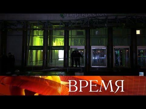 Несколько человек ранены в результате взрыва в магазине в Санкт-Петербурге.