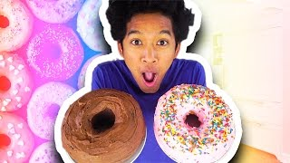 giant ice cream donuts