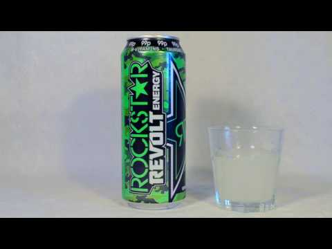 Rockstar Revolt Killer Citrus - Energy Drink Review