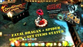 Drakensang online Dragan & Spider Drops & Set