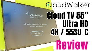 CloudWalker CLOUD TV 55SU 55-Inch 4K Smart TV Review | Features,Pros and Cons | Smart Enough to Buy?
