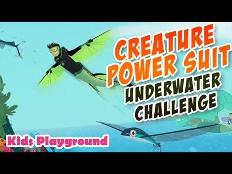 Wild Kratts - Creature Power Suit Underwater Challenge