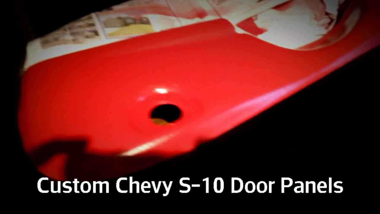 2000 Chevy S 10 Custom Door Panels