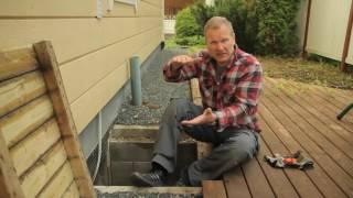 видео вентиляция подполья в деревянном доме