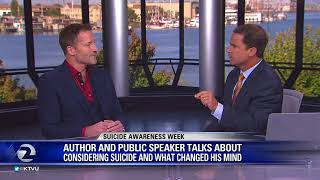 Dr Dain Heer Talks Suicide Prevention on KTVU FOX2