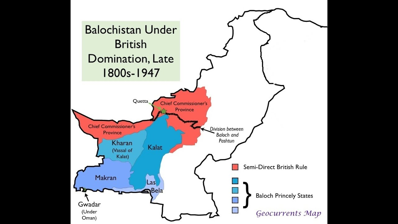 Pakistan Map In 1947 Different Maps of Pakistan 1947 Present and Future (With Complete