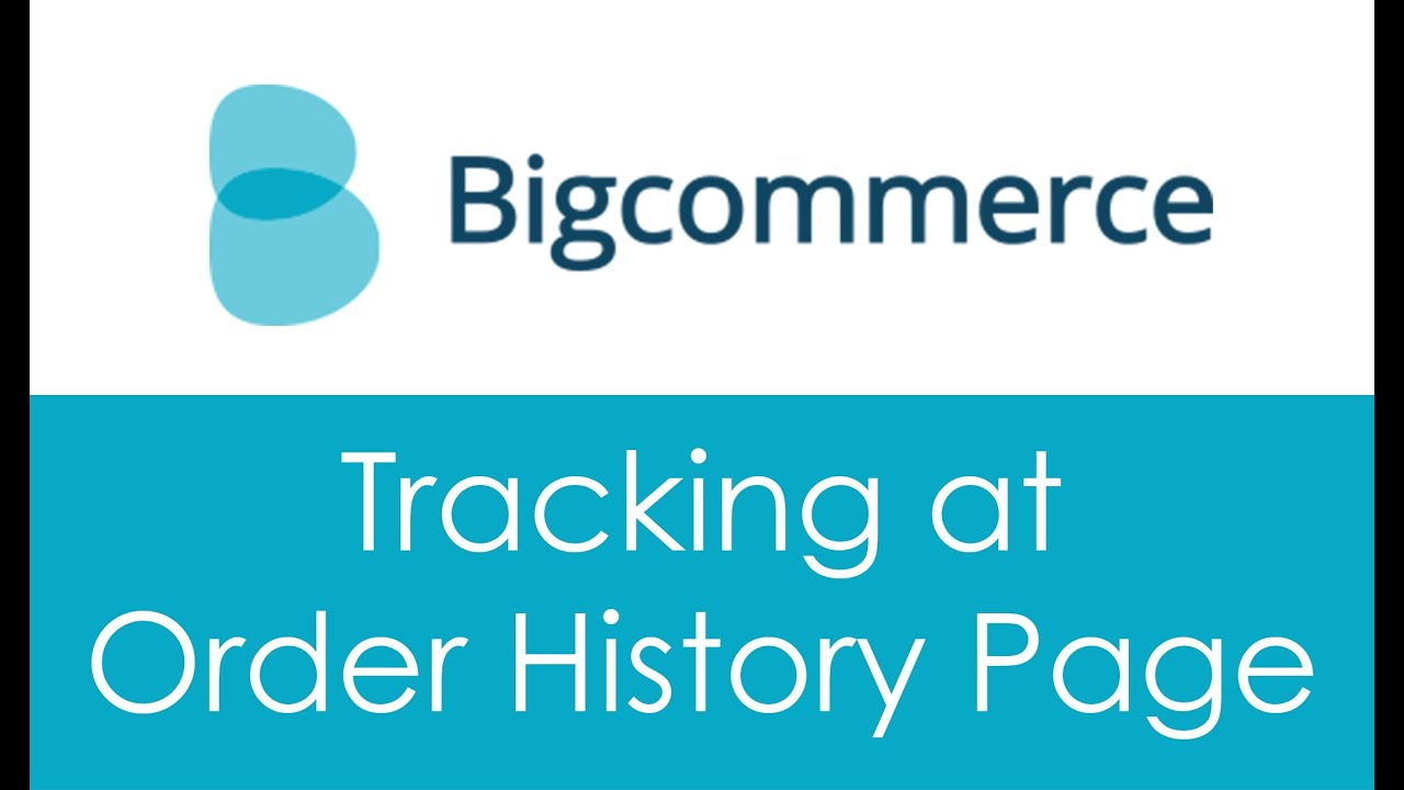 Insert AfterShip Track Button to Order History page of a Bigcommerce store