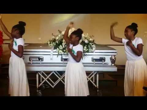 Kids Performed At The Late Moses Yarnway's Funeral -