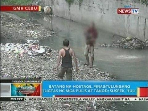 BP: Lalaki sa Cebu City, nang-hostage ng anak ng kanyang live-in partner