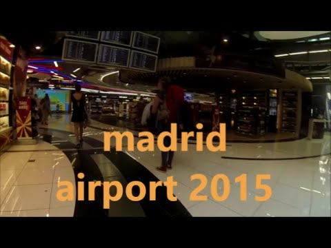 MADRID AIRPORT DUTY FREE (A WALK AROUND) 2015