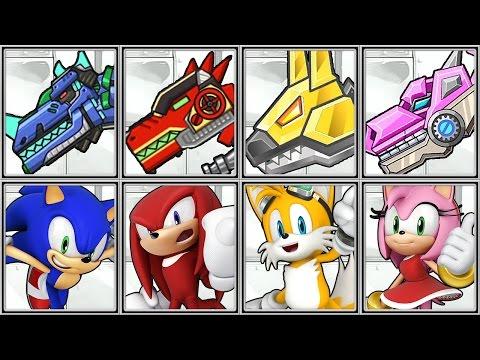 Dino Robot Corps + Sonic Dash - Full Game Play - 1080 HD
