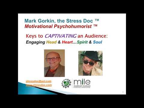 Learn the Keys to Captivating an Audience | Mark Gorkin