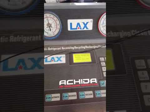 Flushing Ac Mobil Dengan Mesin Lax Youtube