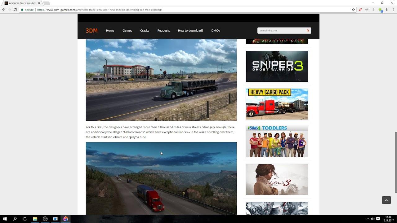 American Truck Simulator - New Mexico Download