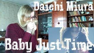 三浦大知 (Daichi Miura) - Baby Just Time |Reaction| 吊りマイク Ver.