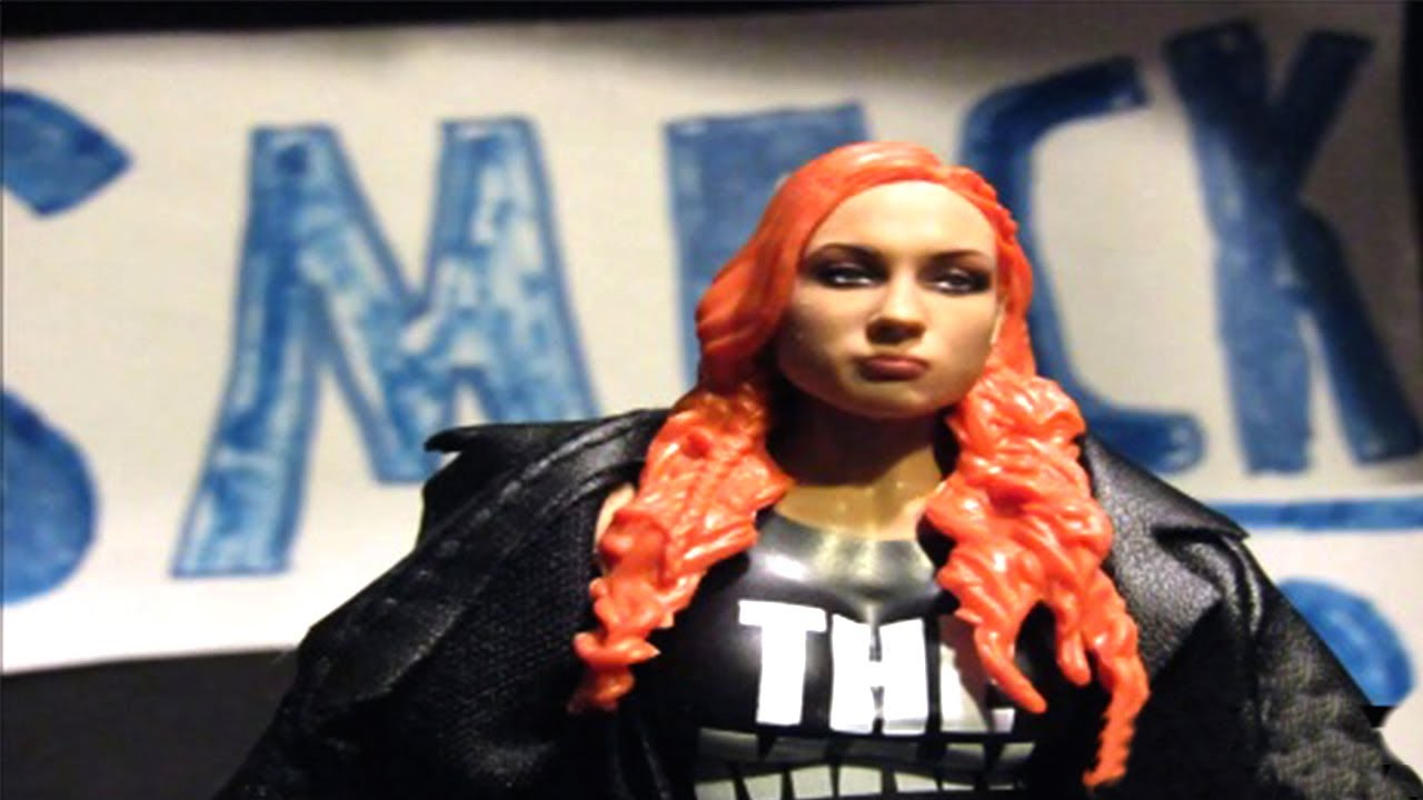 Becky Lynch makes a surprise return: SmackDown: WWE Action Figure Stop Motion