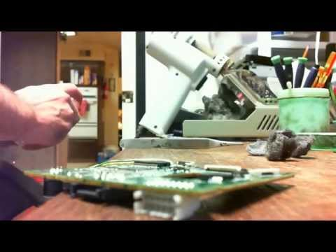 How to repair red lights & open tray on the Xbox 360 slim