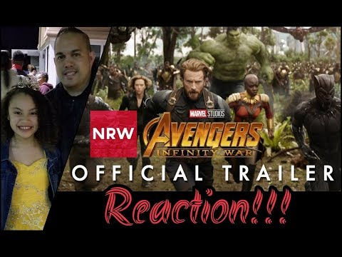 NRW: Father & Daughter React to Avengers: Infinity War Trailer Reaction! #NewReleaseWednesday #NRW