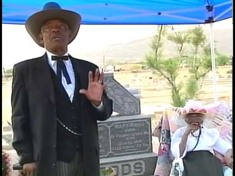 Interview 50 Concordia Cemetery Walk through History (Along the Rio Grande project)