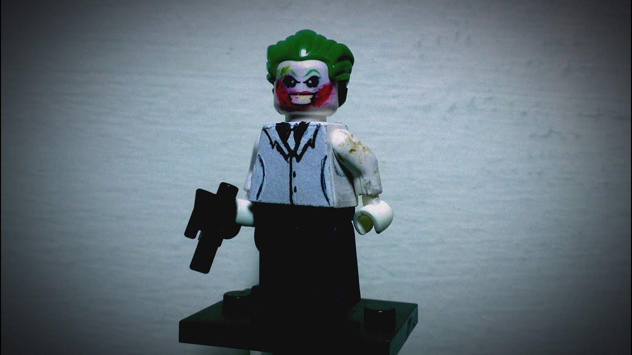 LEGO custom Dark Knight Returns joker - YouTube