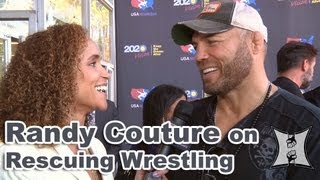 Randy Couture Talks Chael Sonnen, Saving Olympic Wrestling + Bellator