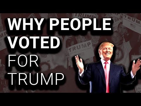 The Real Reason Trumpists Voted for Trump