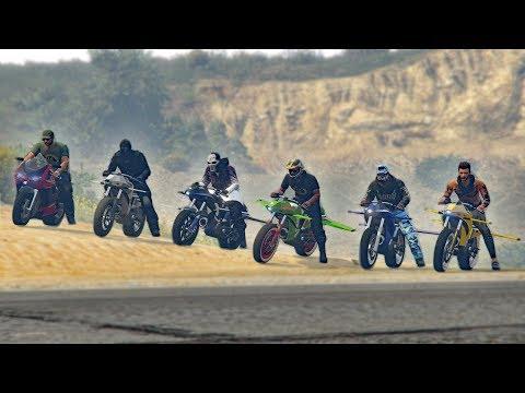 FLYING MOTORCYCLE TROLLING! *OPPRESSOR* | GTA 5 THUG LIFE #143