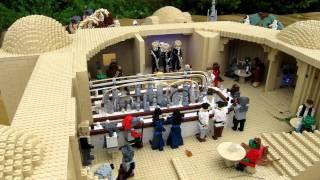 Star Wars Cantina Scene at Legoland, Denmark