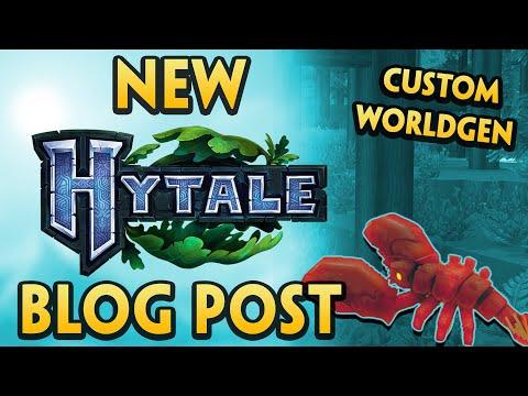 NEW Hytale Blog Post + CUSTOM World Generation Footage | News Updates