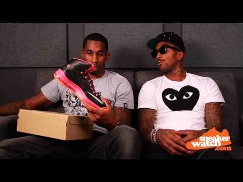 JR Smith Doesn't Approve LeBron's $270 Sneaker (SneakerWatch)