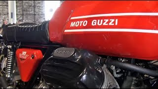 Clymer Manuals Moto Guzzi V7 V 7 Sport Cafe Racer Walk Around Video