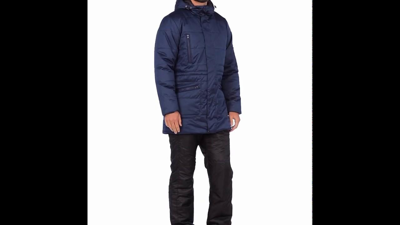 Зимняя куртка Месси от Спортсоло, цвет синий металлик