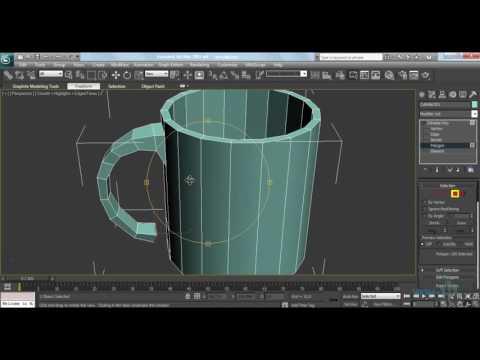 Видеоурок моделирование в 3d max