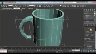 Моделирование в 3Ds Max. Кружка в 3D Max