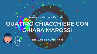Quattro chiacchiere con Chiara Marossi