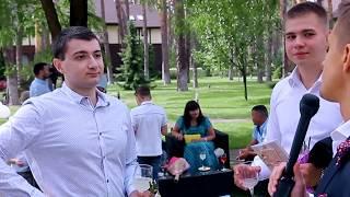 Нестандартное интервью на свадьбе. Ведущий Александр Парубок.