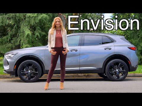2021 Buick Envision review // This is a Buick??