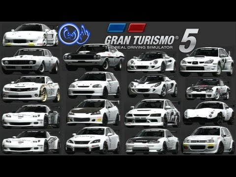 PS3 GT5 Racing Modification Cars