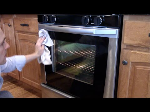 How to take apart an Oven Door to clean the Glass