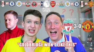 LIVERPOOL vs UNITED with GOLDBRIDGE - OUR GAMEWEEK 19 PREMIER LEAGUE PREDICTIONS