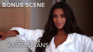 KUWTK | Is Khloe Kardashian Keeping a Secret From Kim? | E!