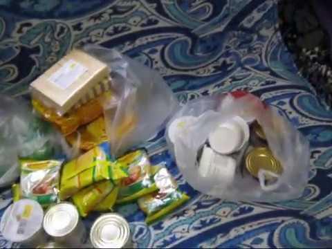 Еда в поезд, какие продукты мы берем в дорогу и на море! Собираю чемодан на море